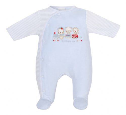 My Little Pals Velour Sleepsuit